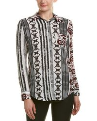 Olivaceous - Printed Blouse - Lyst