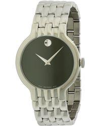 Movado - Men's Stainless Steel Watch - Lyst