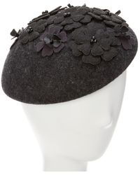 Giovannio - Couture Black Wool Pillbox - Lyst