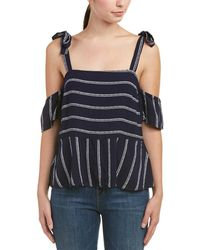 Splendid - Tie-shoulder Top - Lyst
