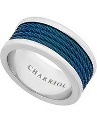 Charriol - Forever Stainless Steel Ring - Lyst