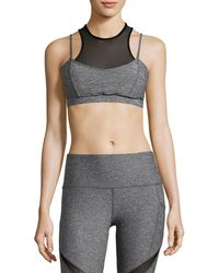 X By Gottex - Mesh Sports Bra - Lyst