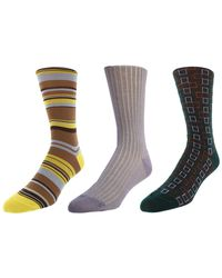 Bruno Magli - Pack Of 3 Socks - Lyst