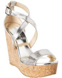 6fa82d2cca99 Lyst - Wedge Sandals