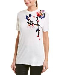Prabal Gurung - Floral Embroidered Top - Lyst