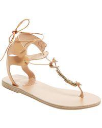 ae68a5a78874 Ancient Greek Sandals - Sandals Kallisto Leather Slip-on Sandal - Lyst