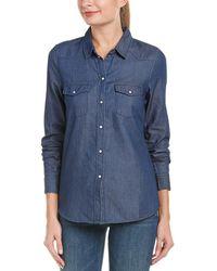 Vero Moda - Denim Shirt - Lyst