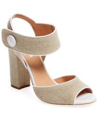 Elorie - Two-piece Block Heel Sandal - Lyst
