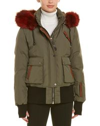 Nicole Benisti - Fordham Leather-trim Jacket - Lyst