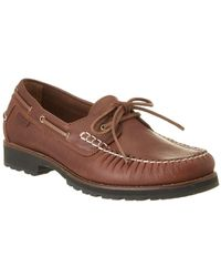 Cole Haan - Connery One Eye Leather Loafer - Lyst
