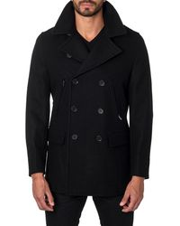 Jared Lang - Double-breasted Wool-blend Jacket - Lyst