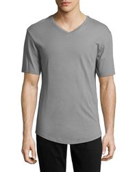 JEFF - The Pines V-neck T-shirt - Lyst
