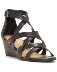 Lucky Brand - Jewelia Leather Sandal - Lyst