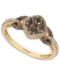 Le Vian - ® Chocolatier® 14k 0.66 Ct. Tw. Diamond Ring - Lyst