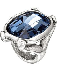 Uno De 50 - Hold On Silver Ring - Lyst