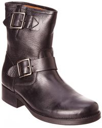 Frye - Vicky Leather Engineer Boot - Lyst