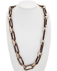 Lafayette 148 New York - Long Chain Link Necklace - Lyst