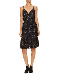 The Letter - Lace Scallop Knee Length Dress - Lyst