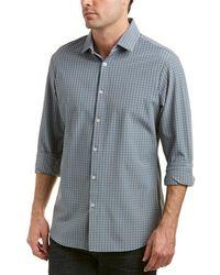 Mizzen+Main - Mizzen+main Knox Trim Fit Woven Shirt - Lyst