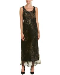 Lafayette 148 New York - Palmer Silk Maxi Dress - Lyst