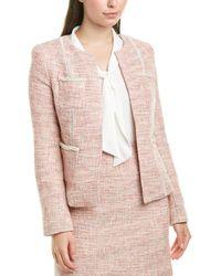 Tahari Tahari Asl Jacket - Pink