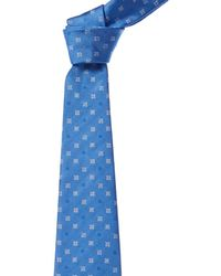 Brooks Brothers - Light Blue Flower Silk Tie - Lyst
