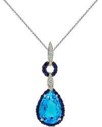 Le Vian - ® 14k 4.05 Ct. Tw. Diamond & Gemstone Necklace - Lyst