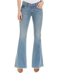 James Jeans - Bella Flat Artisan Raw Flare Leg - Lyst