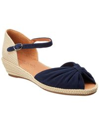 Gentle Souls - Lucille Suede Wedge Sandal - Lyst