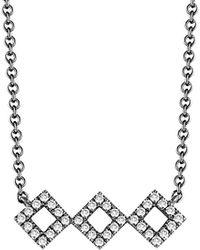 Dana Rebecca - Designs Lisa Michelle 14k 0.13 Ct. Tw. Diamond Necklace - Lyst