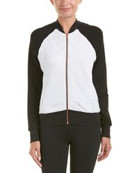 Terez - Colorblocked Bomber Jacket - Lyst