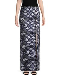 Rachel Pally - Emmyloo Geometric Print Skirt - Lyst
