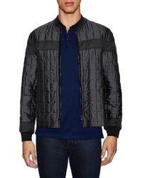 Lanvin - Stand Collar Puffer Jacket - Lyst