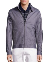 Michael Kors - Canvas Harrington Jacket - Lyst