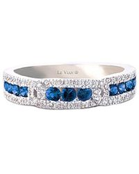 Le Vian - ® 14k 0.67 Ct. Tw. Diamond & Sapphire Ring - Lyst
