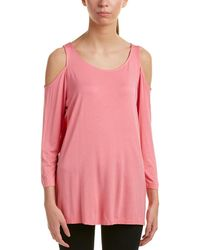 NYDJ - Cold-shoulder T-shirt - Lyst
