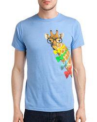 Arka - Dapper Giraffe T-shirt - Lyst