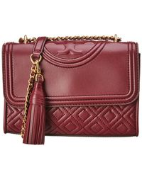 Tory Burch - Fleming Leather Shoulder Bag - Lyst