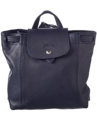 Longchamp - Le Pliage Cuir Xs Leather Backpack - Lyst