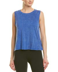 Betsey Johnson - Split Back Muscle Tank - Lyst