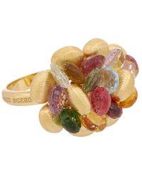 Marco Bicego - Paradise 18k Yellow Gold Gemstone Ring - Lyst