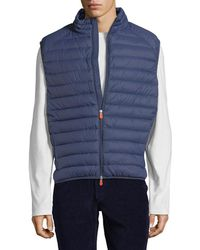 Save The Duck - Puffer Solid Vest - Lyst