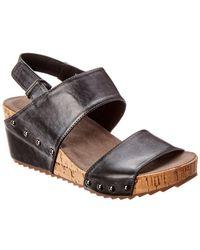 Antelope 534 Leather Wedge Sandal