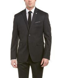 Original Penguin - 2pc Wool-blend Suit With Flat Front Pant - Lyst
