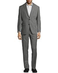 Ralph Lauren - Ultraflex Slim-fit Windowpane Wool Suit - Lyst