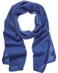 Portolano Winter Blue Cashmere Scarf