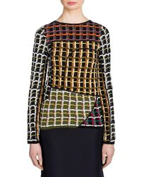 Marni - Knit Patch Pullover - Lyst
