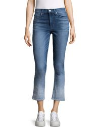 Hudson Jeans - Harper High Rise Cropped Pant - Lyst