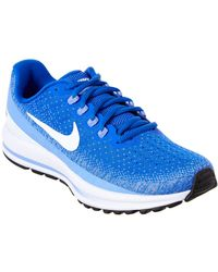 ad8c0f8a074a7 Lyst - Nike Women s Air Zoom Vomero 12 Running Shoe in Blue