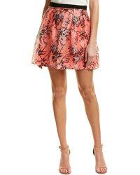 Nanette Lepore - Silk Skirt - Lyst